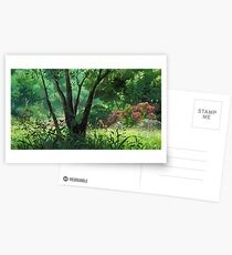 Ghibli-Landschaft Postkarten