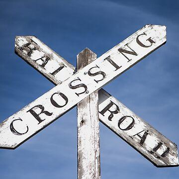 Rail Road Crossing by Tonywallbank
