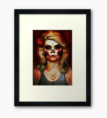 Dark Blond Framed Print
