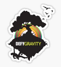 Defy Gravity  Sticker