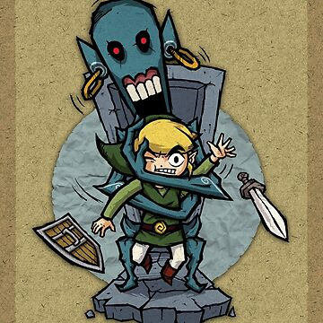 Zelda Wind Waker ReDead  by Purrdemonium
