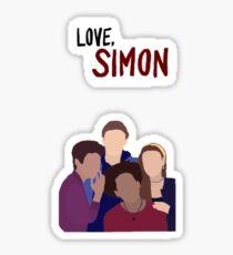 Love Simon Sticker Sticker