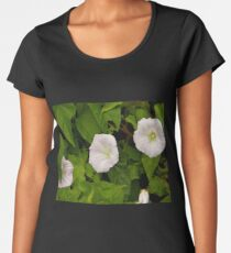 Sea Bindweed, Muckross Head, Donegal Women's Premium T-Shirt