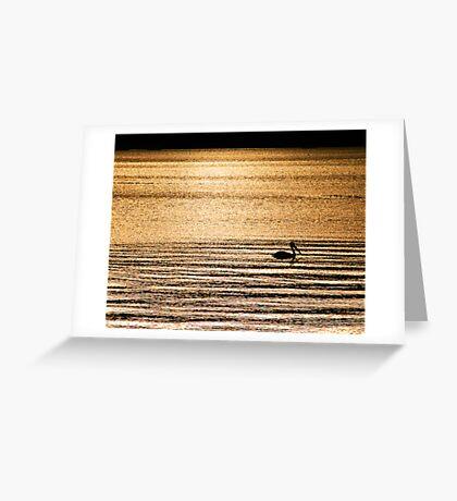 Golden Whisper Greeting Card