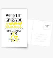 When Life Gives You Lemons... Postcards