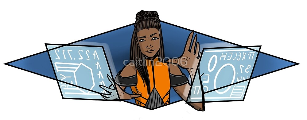 Shuri at Work by caitlin2006