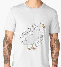 CHICKENS Men's Premium T-Shirt