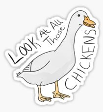 CHICKENS Sticker