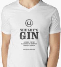 Peaky Blinders - Tommy Shelby Gin Men's V-Neck T-Shirt