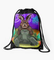 Slow Trip Drawstring Bag