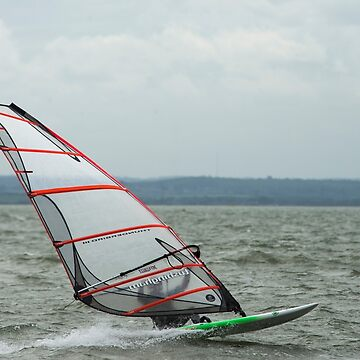 Wind Surfer at Leigh by DonMc