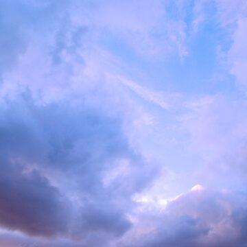 Bubblegum Skies by galziariart