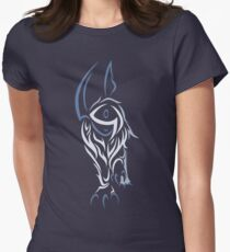 Tribal Absol Colored Women's Fitted T-Shirt