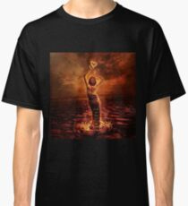 Flaming heart Classic T-Shirt