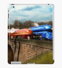 Train - Retro - Meet the Royals 1938 iPad Case/Skin