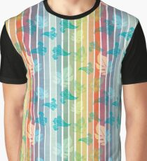 Hawaiian Rainbow Graphic T-Shirt