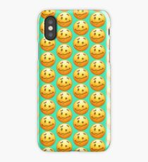 Woozy Face Emoji iPhone Case/Skin