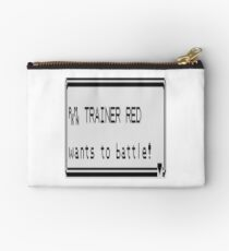 Red wants to battle Studio Pouch