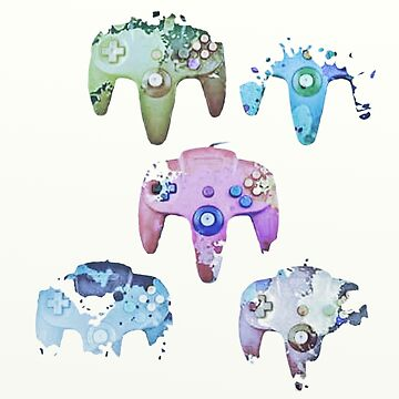 artsy game controllers by Valiante