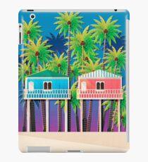 Palolem beach huts iPad Case/Skin