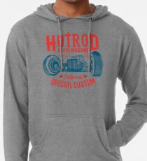 Hot Rod Death Machine Leichter Hoodie