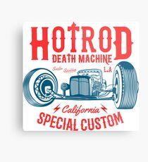 Hot Rod Death Machine Metalldruck