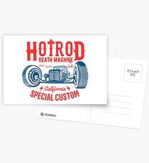 Hot Rod Death Machine Postkarten