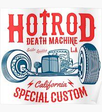 Hot Rod Death Machine Poster