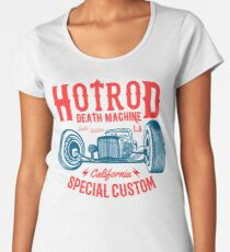 Hot Rod Death Machine Premium Rundhals-Shirt