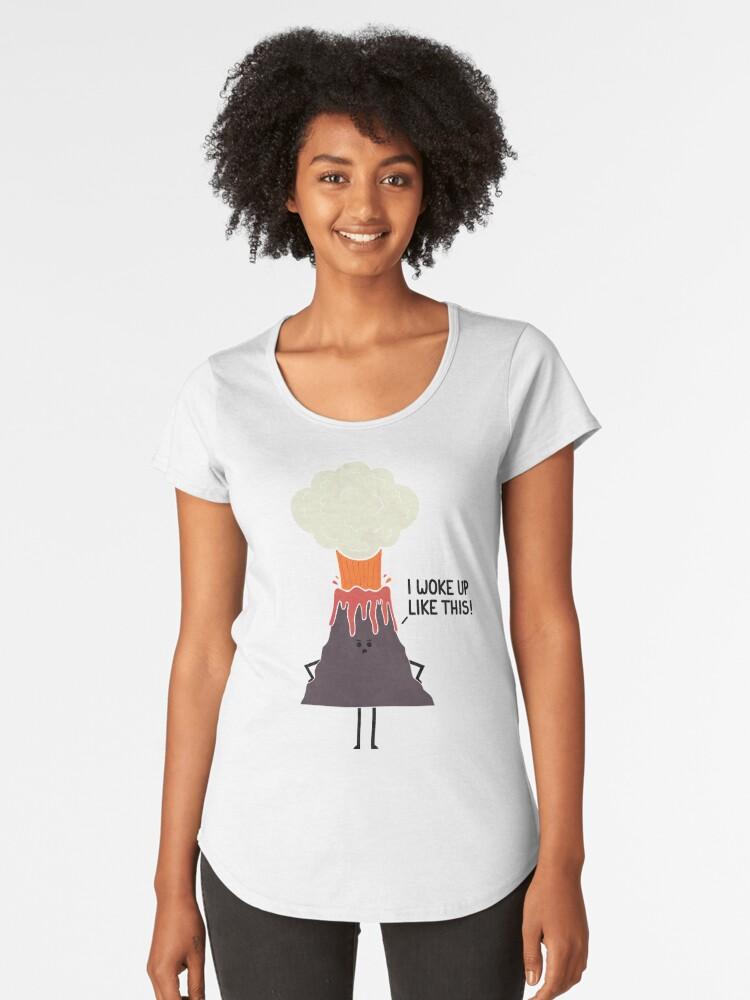Woke Up Like This Women's Premium T-Shirt Front