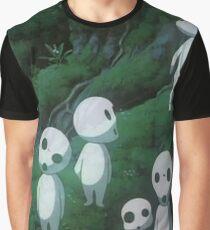 Kodama Ghibli Ghost Graphic T-Shirt