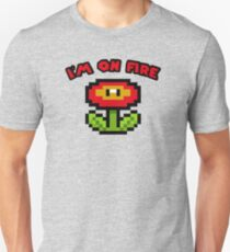 I am on fire - fire flower T-Shirt