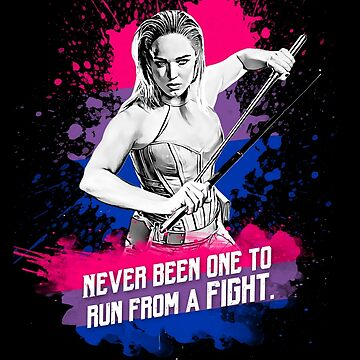 Sara Lance - Never been one to run from a fight by samaritan100