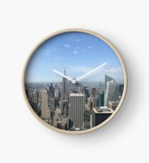 NYC Skyline Clock
