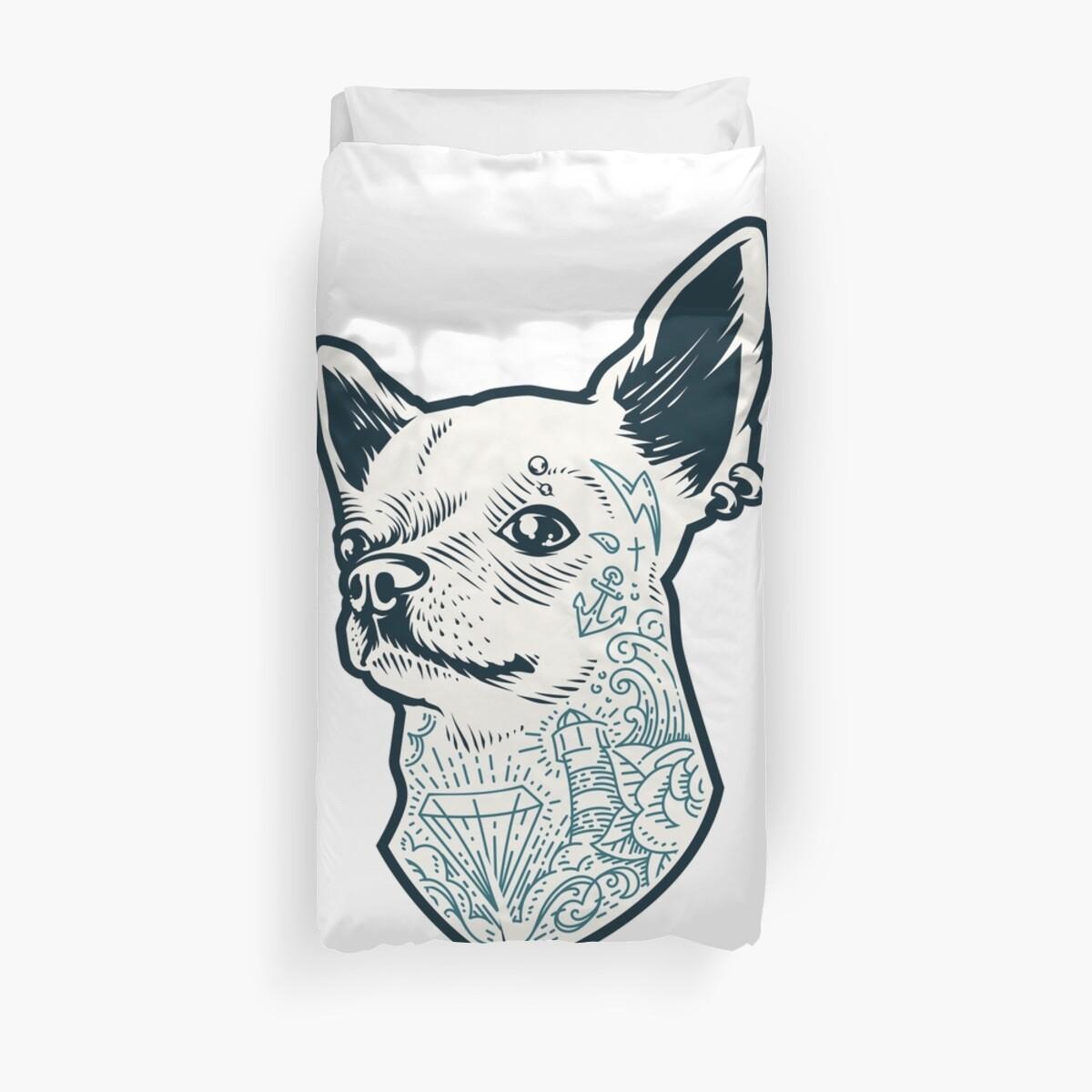 Fundas nórdicas «Crochet Chihuahua - Custom Chihuahua - Chihuahua ...