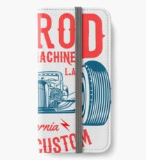 Hot Rod Death Machine iPhone Flip-Case/Hülle/Skin