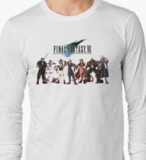 Final Fantasy VII characters Long Sleeve T-Shirt