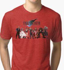 Final Fantasy VII characters Tri-blend T-Shirt