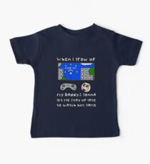 When I Grow Up Gamer Baby - Gaming Geek Parent Baby Tee