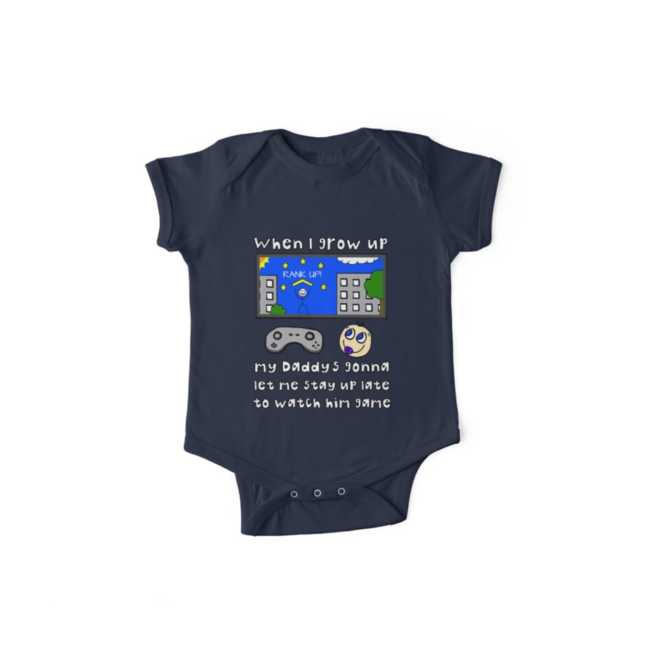 When I Grow Up Gamer Baby - Gaming Geek Parent by AMagicalJourney