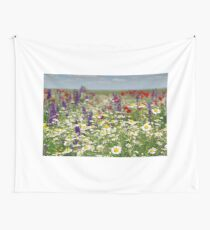 chamomile and wild flowers Wall Tapestry