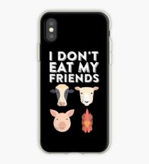 I Don't Eat My Friends | Funny Vegan Vegetarian iPhone Case