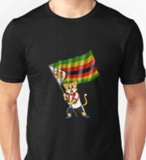 Zimbabwe fan cat Unisex T-Shirt