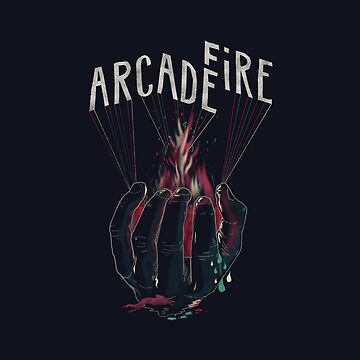 Arcade Fire Hand by DenisWendel