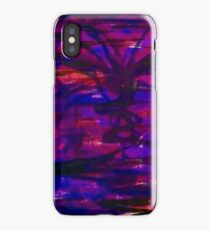 Abstract Purple Passion Number 1 iPhone Case/Skin