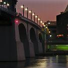 Night Bridge by Gary Pope