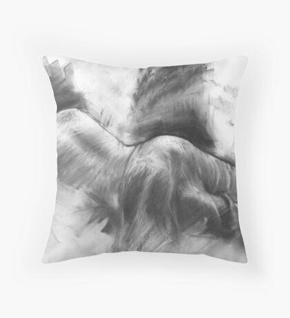 Resting Model Throw Pillow