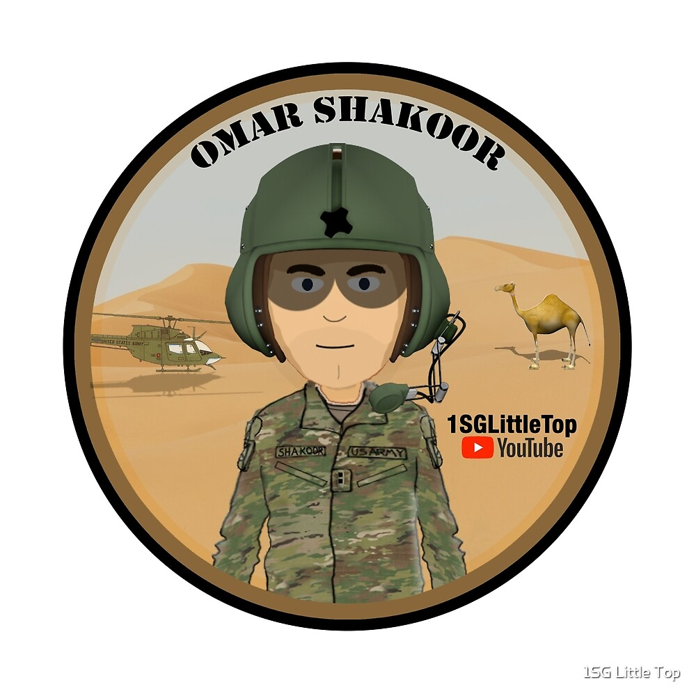 Omar Shakoor-  Member of 1SG Little Top's Patreon by 1SG Little Top