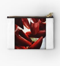 Red Sculpture Studio Pouch
