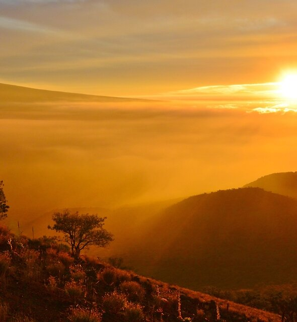 Magical Mauna Kea Sunset by Ran Richards